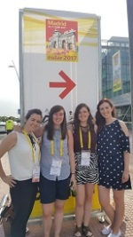 Dr. Sarah Wade, Dr. Trudy McGarry, Megan Hanlon & Dr. Mary Canavan at the EULAR 2017 Conference in Madrid